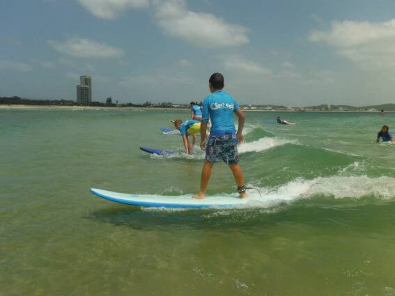 Learn to Surf Currumbin Alley Surf Easy Surf School Gold Coast family surfing