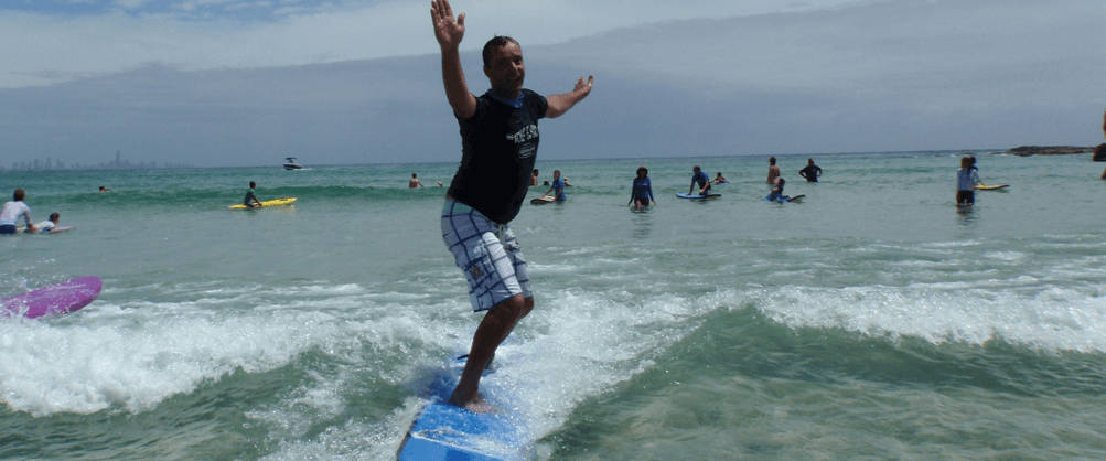 Learn to Surf Currumbin Alley Surf Easy Surf School Gold Coast fathers day