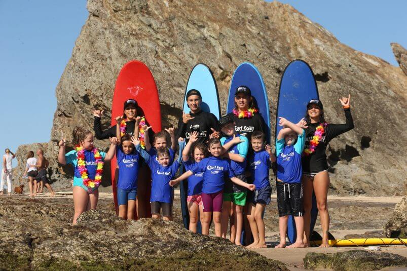 Learn to surf and party with friends at surf easy currumbin alley surf school