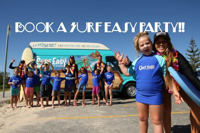 Learn to Surf Currumbin Alley Surf Easy Surf School Gold Coast party