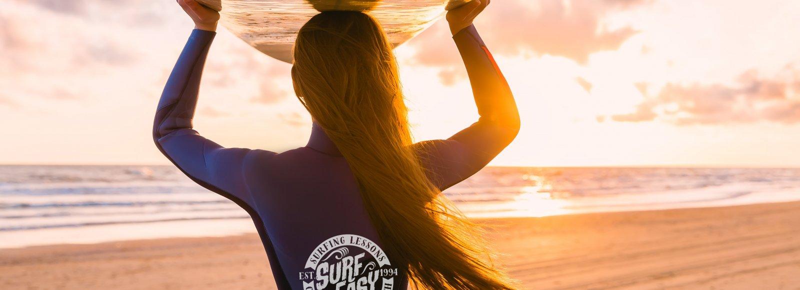 Sunrise Surfing Surf Easy